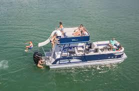 Pontoon Boat Sinks Nj by Double Decker Pontoon Boats Tahoe Pontoon Boats