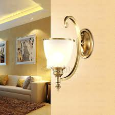 luxury wall sconces golden bronze luxury single lights decorative