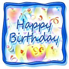 Square Birthday Cake Clipart