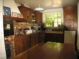 meuble de cuisine ancien une cuisine intégrée relookée par une céruse atelier de l