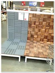 Ikea Deck Tiles Runnen Outdoor Flooring Over Grass Cheap
