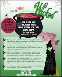 Date Halloween 2014 by Wicked Halloween Event October 24 Or 25 Pretty In Pink Spa