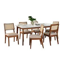 Dining Set Newbury Dining Table And 4 Chairs In Maple NEW012