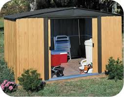 woodlake 6x5 arrow metal garden storage shed kit wl65
