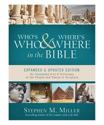 Whos Who And Wheres Where In The Bible Paperback