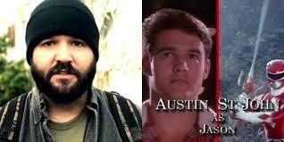 Austin St John As Jason Scott Lee Aka Red Ranger