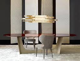 Dining Room Italian Sets Luxury Scenic Table Decorating Dress Modern