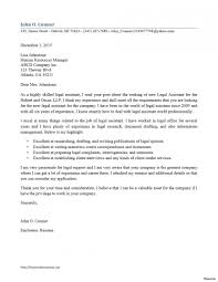 Legal Assistant Cover Letter Sample Recommendation Harvard Law In Examples