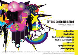 Art And Design Exhibition Poster