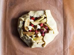 20141103 Rustic Apple Cranberry Pie Dough Folded Over