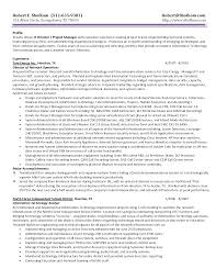 2 Page Resume Header Example Sample Information Technology