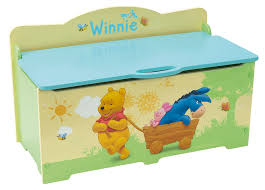 acheter disney winnie the pooh coffre a jouets avec frein winnie