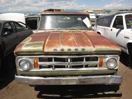 Junkyard Find: 1968 Dodge D-100 Adventurer Pickup - The Truth About Cars Our 1970 Dodge D100 Is Up For Auction Sold Mopar Fans Sweptline Shortbed 383727 The A100 Sale Pickup Truck Van Camper Parts Classifieds Just A Car Guy Stored 1970s Trucks Were At The 2010 While We Are On Old Dodge Heres My W300 Medium Duty Conv Tilt Low Cab Fwd Sales Brochure Adventurer Our New Baby Merlins Or 71 Rough Shape With Title D200 Youtube Dually 4x4 Vintage Mudder Reviews Of Other Pickups Aged Hot Rod Rat