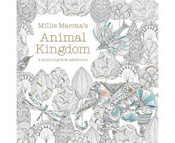 Millie Marottas Animal Kingdom Colouring Book