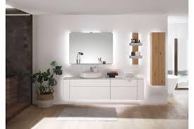 gentis badezimmer set hülsta in lack reinweiß möbel