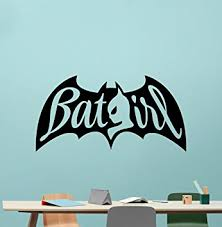 Superhero Comic Wall Decor by Amazon Com Batgirl Wall Decal Marvel Batman Comics Superhero