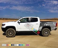 100 Truck Bed Decals Destorder US Flag Tail Sticker American Flag Kit Compatible