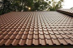 met tile simulated tile metal roofing mcelroy metal roofing