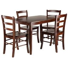 Remarkable Walnut Dining Table Set Sets Modern Waln Wood ...