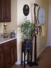 African Theme In Master Bath But Most Likely Living Room Pin