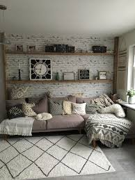 wohnzimmer hygge wandgestaltung design wohnzimmerwand