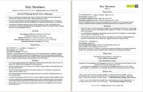 Resume Examples For Managers Pattern A Retail Supervisor Normal Operations