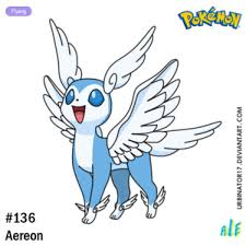Aereon By Urbinator17 On DeviantArt Pokémon Pinterest Pokémon