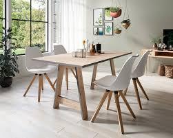 homexperts essgruppe till und kaja set 5 tlg esstisch mit 4 stühlen kaufen otto
