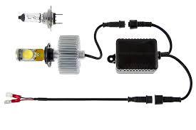 motorcycle led headlight conversion kit h7 led headlight bulb