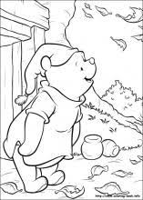 Winnie The Pooh Coloring Pages On Book