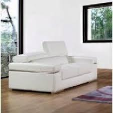 canapes cuir blanc canape cuir blanc 2 places achat vente canape cuir blanc 2