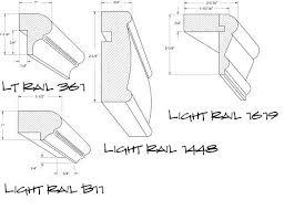 conestoga mouldings crown light rail base moldings cove