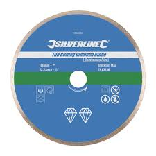 Amazing Tile And Glass Cutter Uk by Silverline 993035 Tile Cutting Diamond Disc 180 X 22 2 Mm Amazon