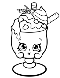 Click To See Printable Version Of Choc Mint Charlie Shopkin Coloring Page
