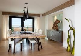 Dining Table Rustic Modern Room Tables Valuable Design Ideas 2 On Home