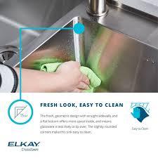 Elkay Crosstown Bar Sink by Faucet Com Ectru30179r In Stainless Steel By Elkay
