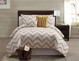 Zigfield 5 Piece 100% Cotton forter Set Gold