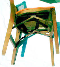 Mid Century Wood Folding Chair. Fabulous Fifties Mid Century ... Antique Stakmore Louis Rastter Sons Folding Wooden Leather Chairs Set Of 7 1940 Wood Related Keywords Suggestions Midcentury Retro Style Modern Architectural Vintage French Cane Back 6 Mid Century Camping Table And Sante Blog Aptdeco Folding Chairs Are Ideal For Accommodating Extra Details About Chippendale Chair 2 3