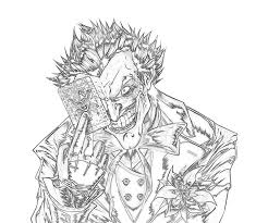 Beautiful The Joker Coloring Pages 59 With Additional For Adults