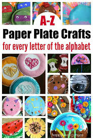 Paper Plate Crafts For Kids To Make Every Letter Of The Alphabet
