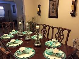 dining room table decor from pier one came out pretty yelp