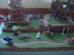 Lemax Halloween Village Displays by Dept 56 Lemax Village Display Base Platform Halloween