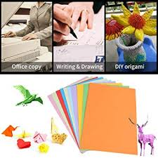 100Ps Colored Printer Paper10 Color A4 Size For Office Origami Handwork Paperboard