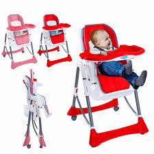 Foldable Baby High Chair Recline Highchair Height Adjustable ... Luvlap 3 In 1 Convertible Baby High Chair With Cushionred Wearing Blue Jumpsuit And White Bib Sitting 18293 Red Vector Illustration Red Baby Chair For Feeding Wooden Apple Food Jar Spoon On Highchair Grade Wood Kids Restaurant Stackable Infant Booster Seat Lucky Modus Plus Per Pack Inglesina Usa Gusto Highchair Ny Store Buy Stepupp Plastic Feeding