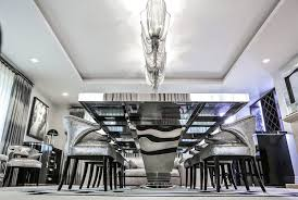 Awesome Dining Room Filled With Custom Decor From KOKET