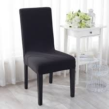 Black And White Dining Room Chair Covers Seat