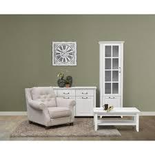 wohnzimmer komplett set d bibaor 3 teilig farbe eiche weiß