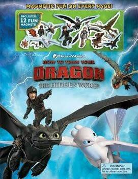DreamWorks How to Train Your Dragon: The Hidden World Magnetic Fun [Book]