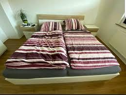 schlafzimmer komplett zu verkaufen wie neue mit led beleuchtung