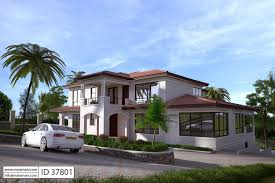 7 bedroom house design id 37801